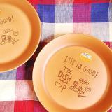 NATURAL CAFE プレートL【在庫4】