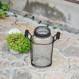 IRON BOTTLE VASE S
