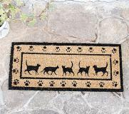 COIR MINI MAT RECT CAT(23×53cm)