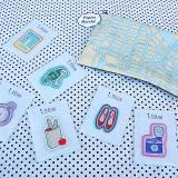 PAPIER MARCHE EMBROIDERY SEAL