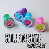Smile Face Stamp 4個セット