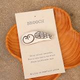 BROOCH OWL【在庫1】