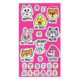 STICKER SHEET ANIMAL