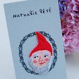 NathalieLete Applique Dwarf