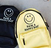 BACK PACK SMILE FACE